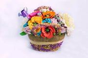 Лепка цветов из полимерной глины DECO