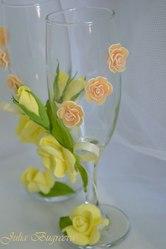 лепка цветов из японской флористической глины для взрослых